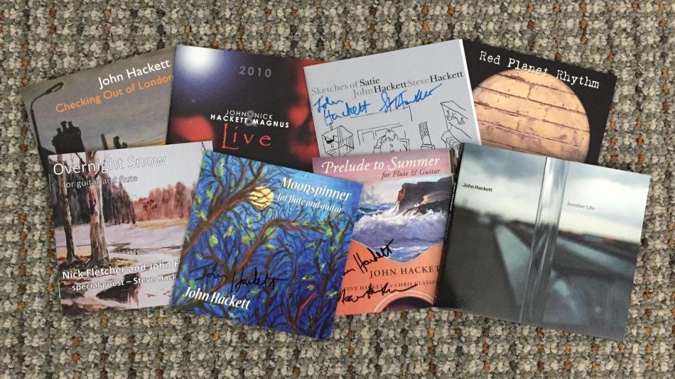John Hackett CDs